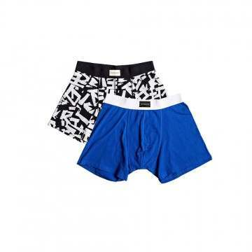 Quiksilver Boxers 2 Pack Assorted
