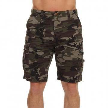 Quiksilver Crucial Battle Cargo Shorts Camo Print