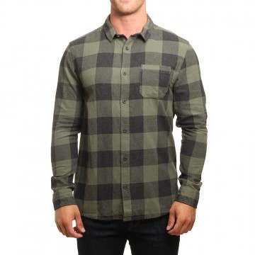 Quiksilver Motherfly Shirt Thyme Check