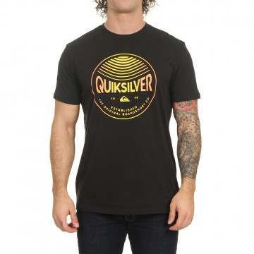 Quiksilver Colors In Stereo Tee Black