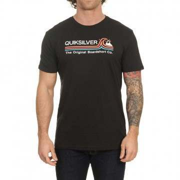 Quiksilver Stone Cold Tee Black