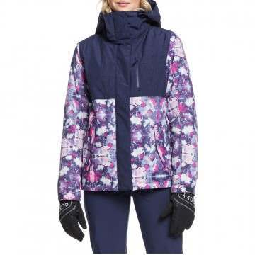 Roxy Jetty Block Snow Jacket Medieval Blue