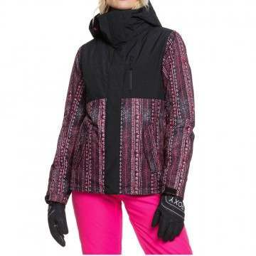 Roxy Jetty Block Snow Jacket True Black