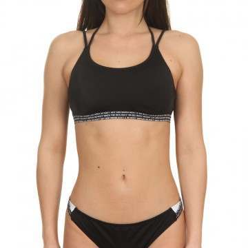 Roxy Fitness Bra Black Worldwide