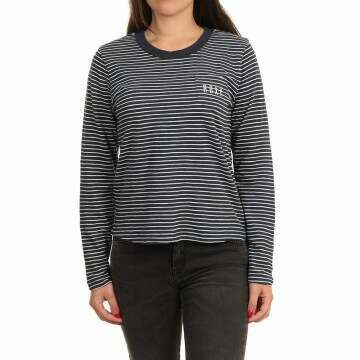 Roxy Feel Sand L/S Top Mood Indigo Stripes