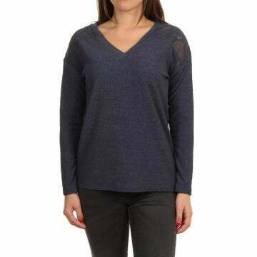 Roxy You Gotta Be Long Sleeve Top Mood Indigo