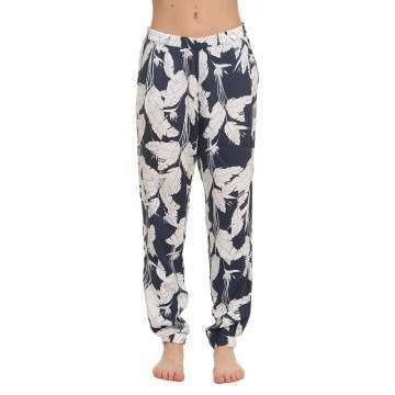 Roxy Easy Peasy Pant Indigo Flowers