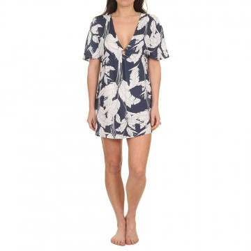 Roxy Summer Cherry Dress Mood Indigo