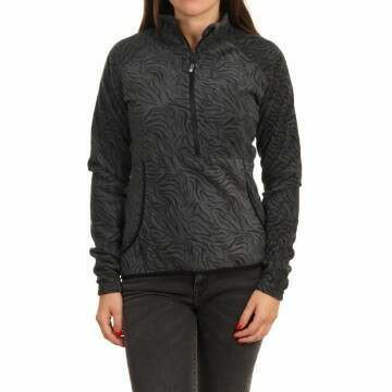 Roxy Cascade Fleece True Black/Zebra Print