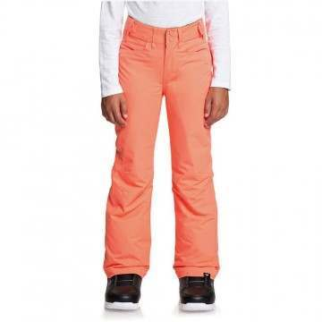 Roxy Girls Backyard Snow Pants Coral