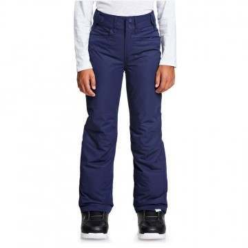 Roxy Girls Backyard Snow Pants Blue