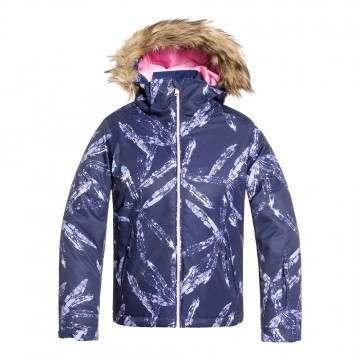 Roxy Girls Jet Ski Snow Jacket Arctic Leaves