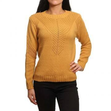 Roxy Take Over The World Jumper Spruce Yellow
