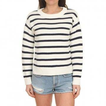 Roxy Deep Honey Jumper Parisian Stripes
