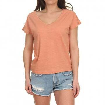 Roxy Starry Dream Tee Terra Cotta