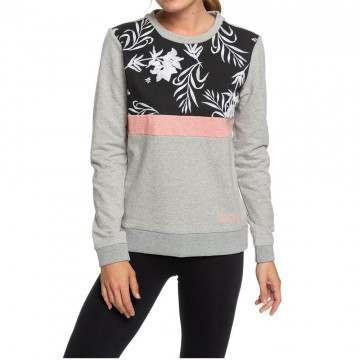 Roxy Leviation Avenue Crew Heritage Heather