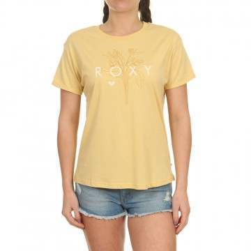 Roxy Epic Afternoon Logo Tee Sahara Sun