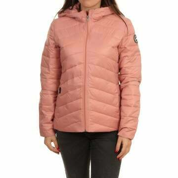 Roxy Coast Road Hooded Jacket Ash Rose