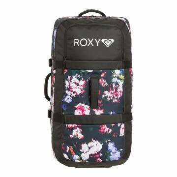 Roxy Long Haul Luggage True Black/Blooming Party