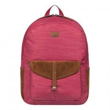 Roxy Carribean Lurex Backpack Deep Claret