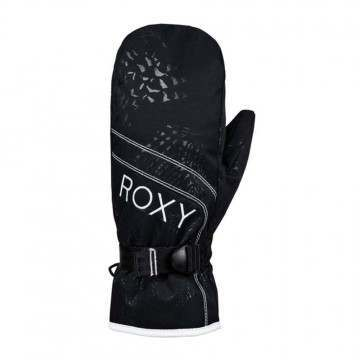 Roxy Jetty Solid Snow Mitts True Black