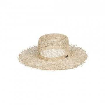 Roxy Great Time Straw Hat Ivory Cream