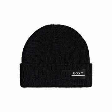 Roxy Island Fox Beanie Anthracite