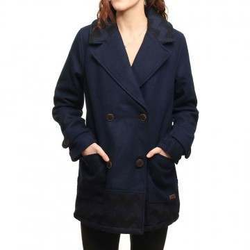 Roxy Moonlight Jacket Peacoat