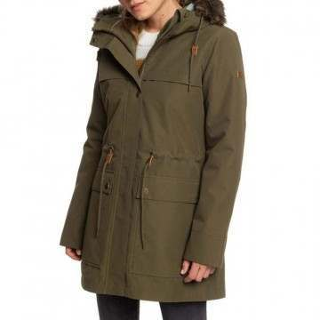 Roxy Amy 3 In 1 Parka Ivy Green