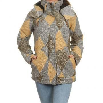 Roxy Dawn Jacket Heather Grey
