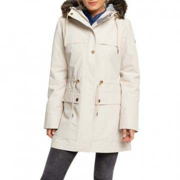 Roxy Amy 3 In 1 Parka Oyster Gray