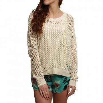 Roxy Turnabout Jumper Sand Piper