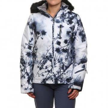 Roxy Jet Ski Premium Snow Jacket Bright White