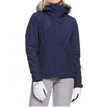 Roxy Jet Ski Solid Snow Jacket Medieval Blue