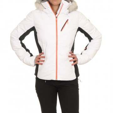 Roxy Snowstorm Snow Jacket Bright White