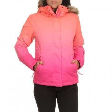 Roxy Jet Ski SE Snow Jacket Pink Gradient