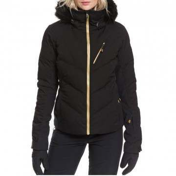 Roxy Snowstorm Plus Snow Jacket True Black