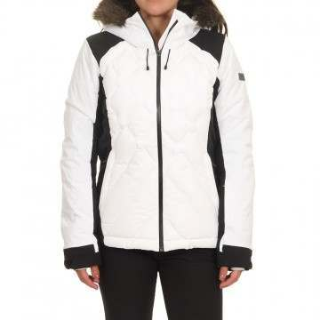 Roxy Breeze Mountain Snow Jacket Bright White