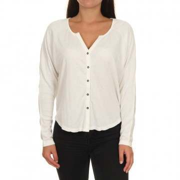 Roxy Free Fallin Long Sleeve Top Snow White