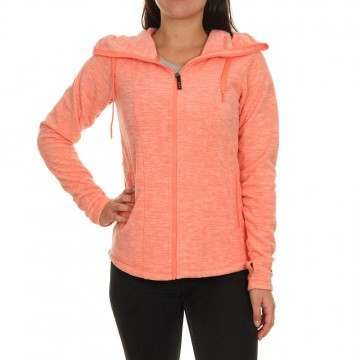 Roxy Electric Feeling 3 Fleece Rosarancio