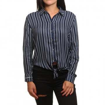 Roxy Suburb Vibes Shirt Blue Stripes