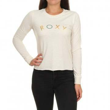 Roxy All The Stars Long Sleeve Top Snow White