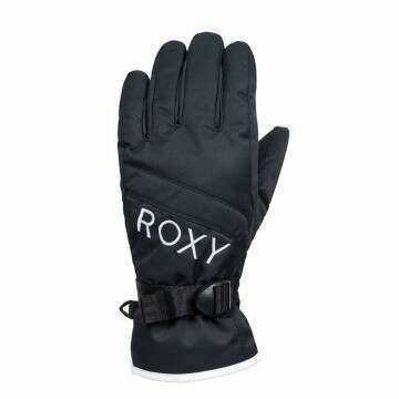 Roxy Jetty Solid Snow Gloves True Black