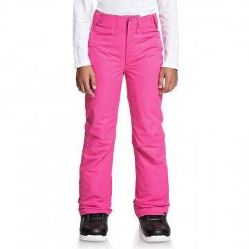 Roxy Girls Backyard Snow Pants Beet Pink