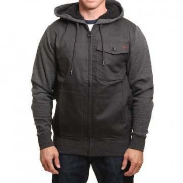 Billabong Barlow Hybrid Jacket Charcoal