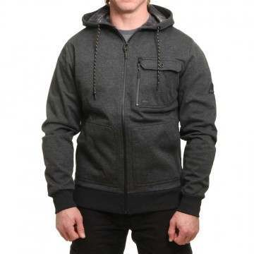 Billabong Quadrant Z/Hoody Black Heather