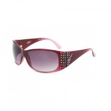Bloc Turin Sunglasses Cranberry/Grey Grad