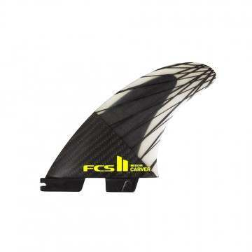 FCS 2 Carver Performance Core Carbon Large Fins