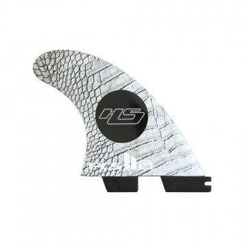 FCS 2 HS PC Carbon Medium Tri-Quad Surfboard Fins
