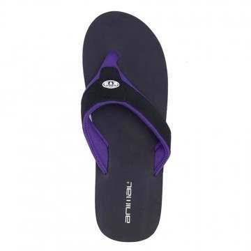 Animal Bazil Sandals Black